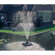 vijver fontein